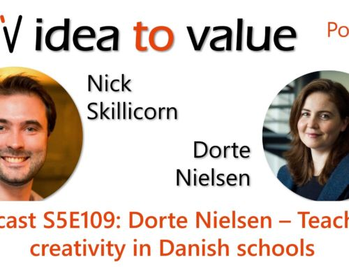 Podcast S5E109: Dorte Nielsen – Teaching creativity in Danish schools