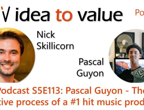 Podcast S5E113: Pascal Guyon – The creative process of a #1 hit music producer