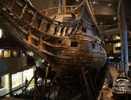 The story of the Vasa, the innovative ship that sunk immediately