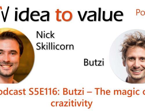 Podcast S5E116: Butzi – The magic of crazytivity