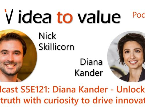 Podcast S5E121: Diana Kander – Unlocking the truth with curiosity to drive innovation
