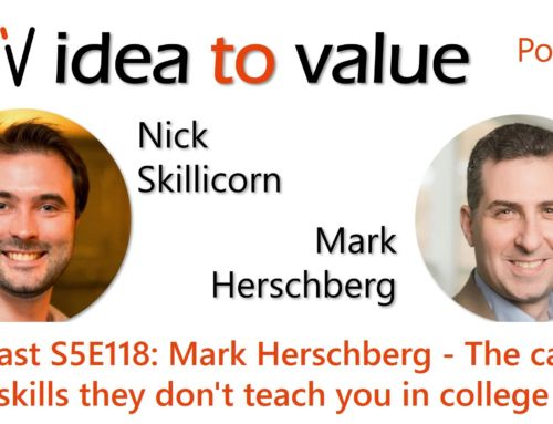 Podcast S5E118: Mark Herschberg  – The career skills they don't teach you in college