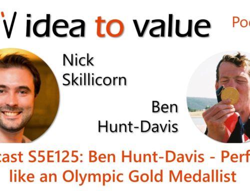 Podcast S5E125: Ben Hunt-Davis – Perform like an Olympic Gold Medallist