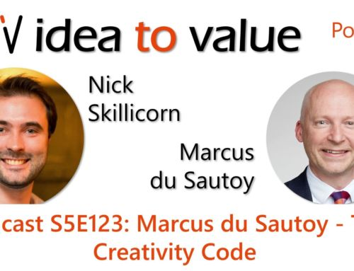 Podcast S5E123: Marcus du Sautoy – The Creativity Code
