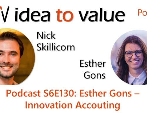Podcast S6E130: Esther Gons – Innovation Accounting