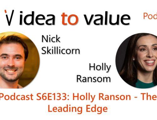 Podcast S6E133: Holly Ranson – The Leading Edge